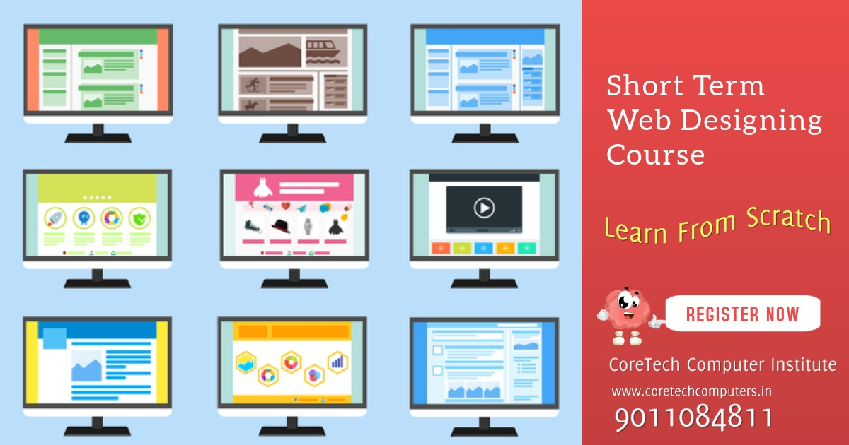 Short Term Web Designing Course