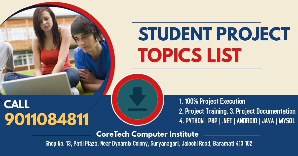 Student Projects Topic List