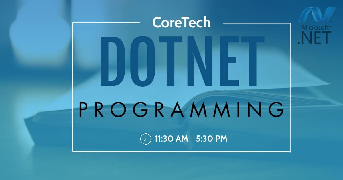 Dot Net Programming Course