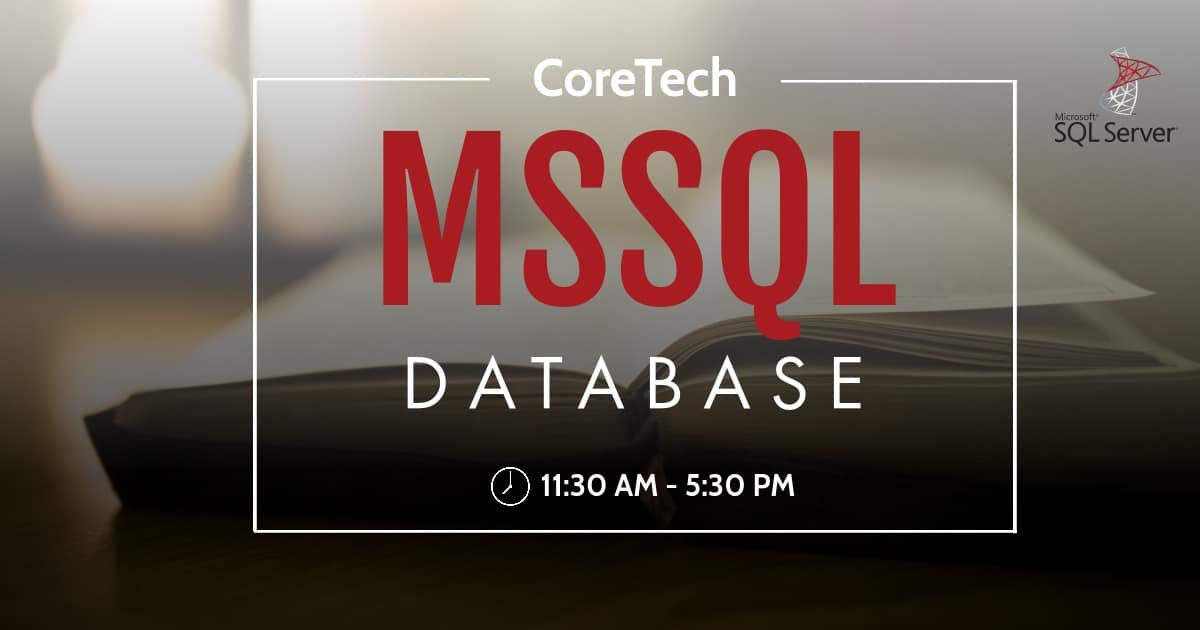 MSSQL Database Training